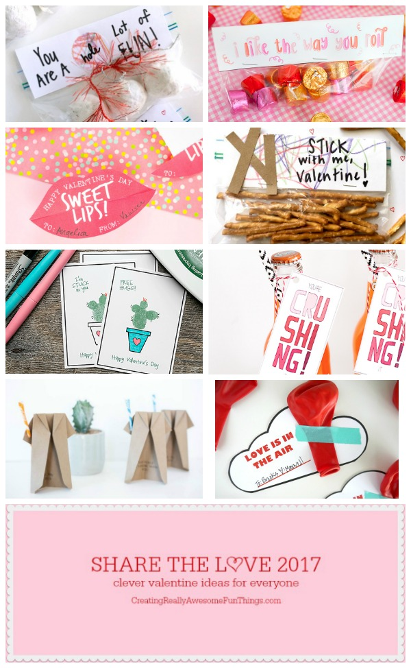 8 Valentines Day cards and free printables