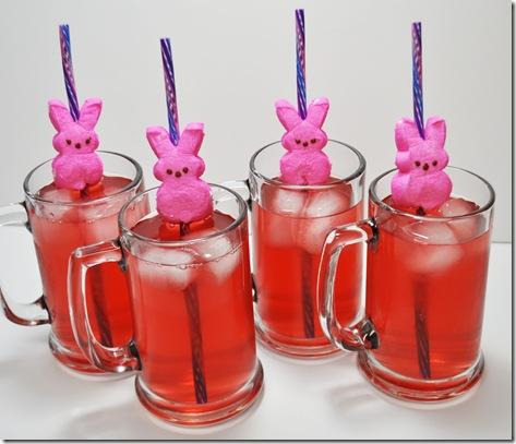Peep straw Easter craft