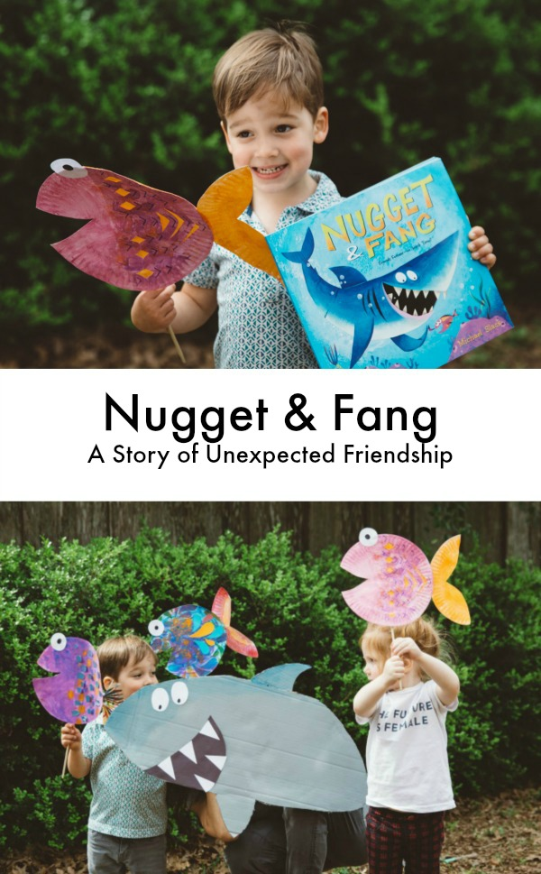 Nugget and Fang discussion and crafts
