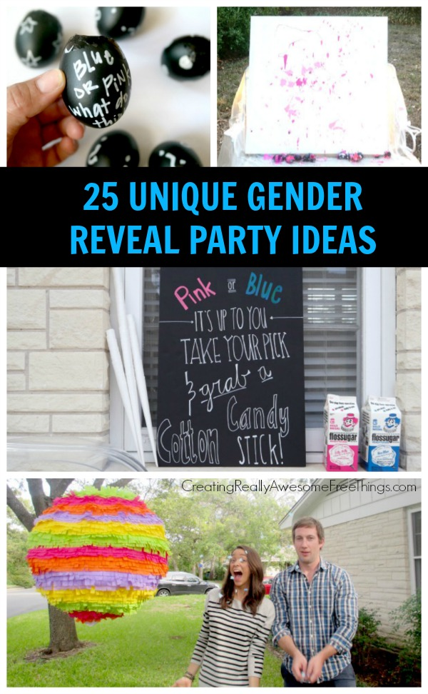 25 Gender Reveal Party Ideas C R A F T