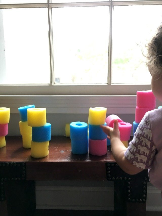 DIY pool noodle quiet blocks