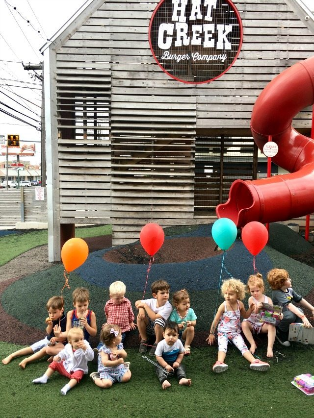 hat creek birthday party