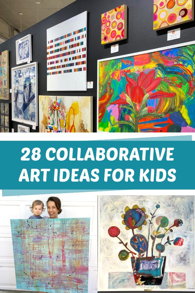 28 Collaborative art ideas for kids