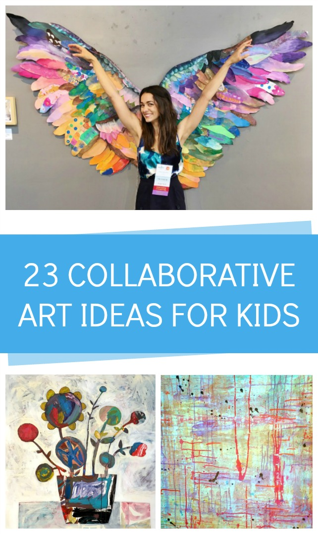 Collaborative art ideas for kids