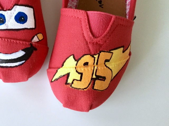 Lightning McQueen crafts
