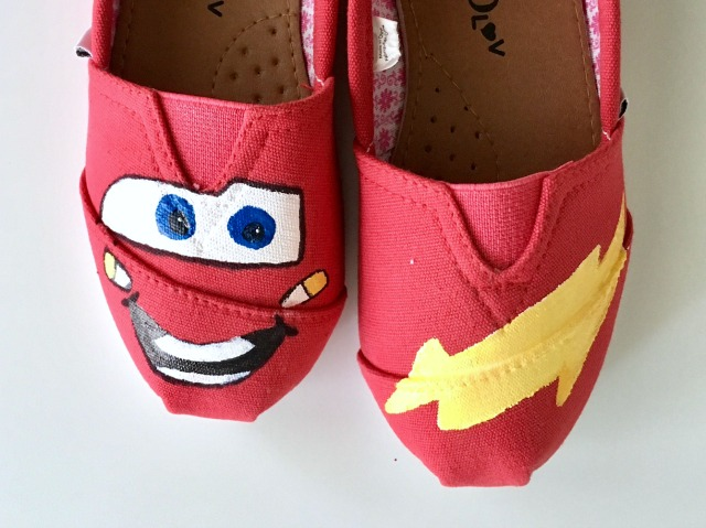 Lightning McQueen shoes