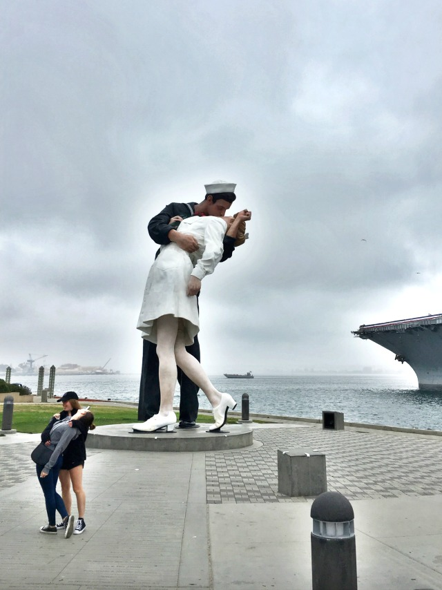Free things to do in San Diego with kids: USS Midway Museum