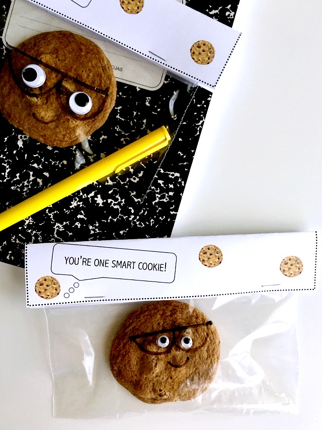 image relating to You're One Smart Cookie Printable identified as Youre Just one Intelligent Cookie: Again in direction of Faculty Address - C.R.A.F.T.