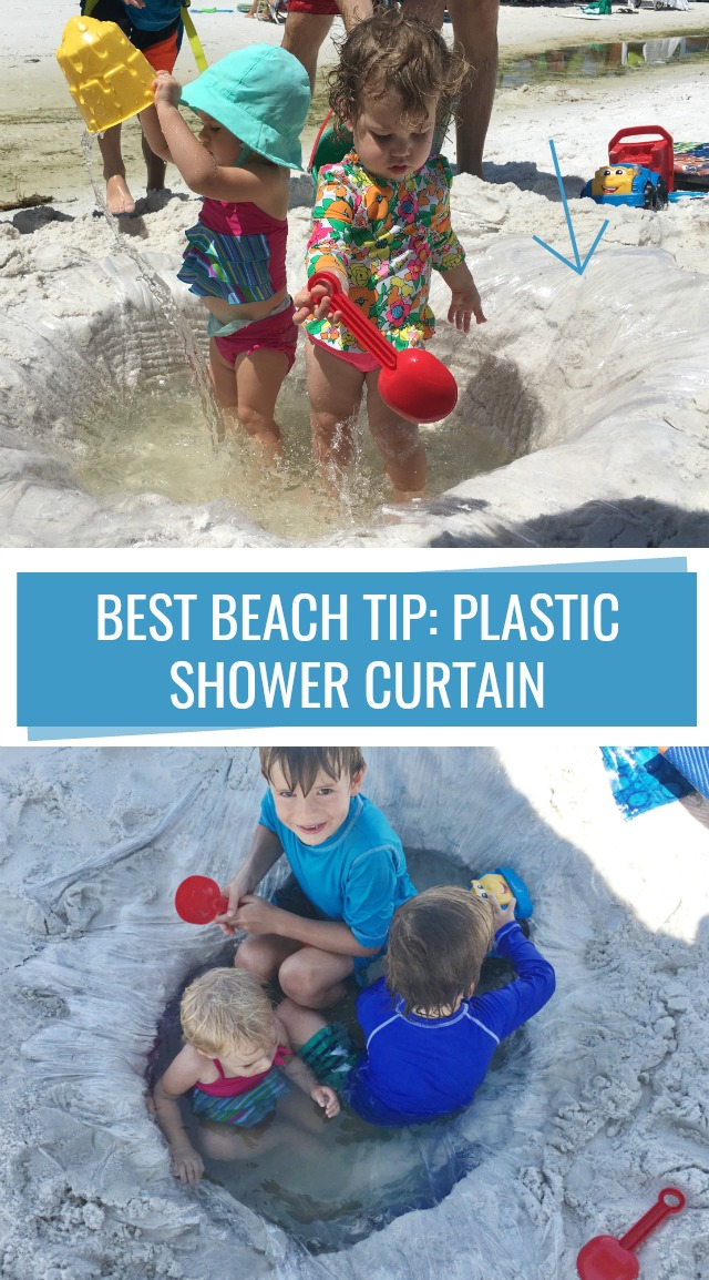 Best beach tip for babies and toddlers