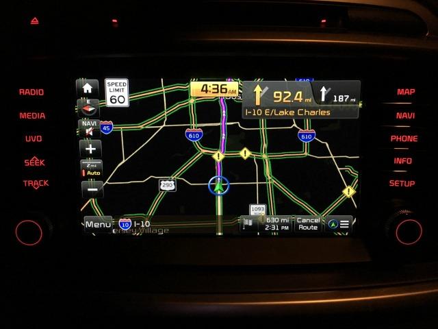 Kia Sorento Navigation