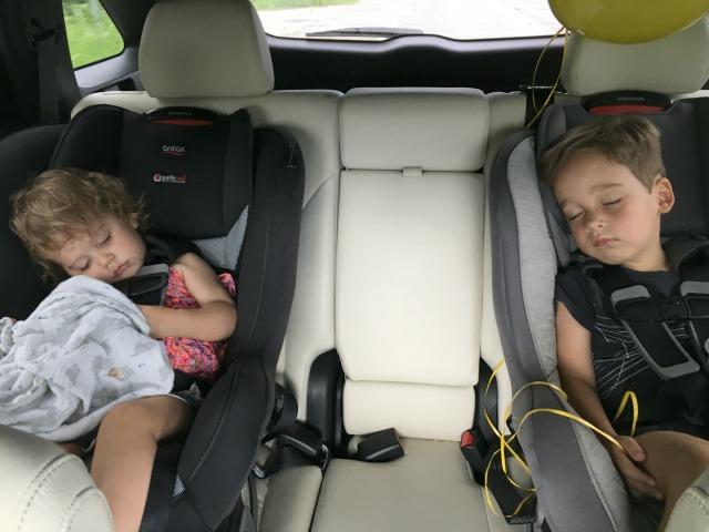 Road Trip with preschooler