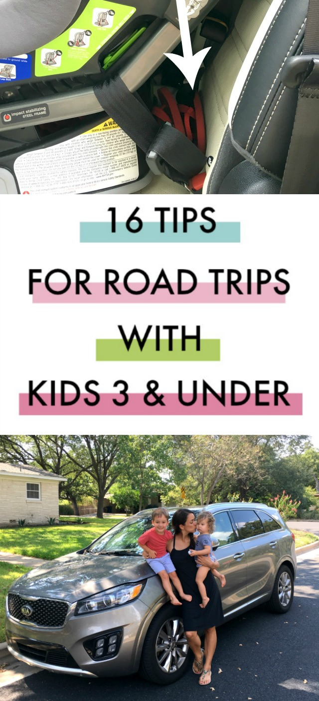 16 Road trip tips for preschoolers and toddlers