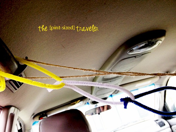 pipe-cleaner car activity
