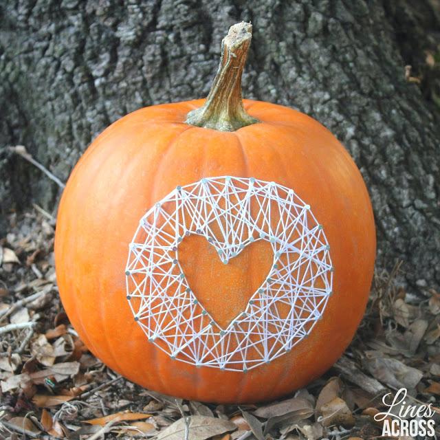 No carve pumpkin tutorial