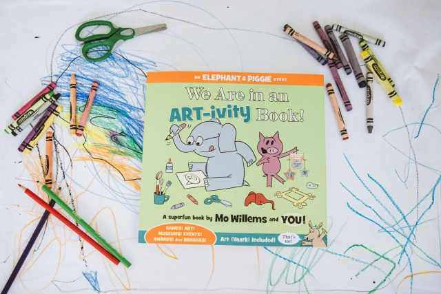 Art-ivity book Mo willems