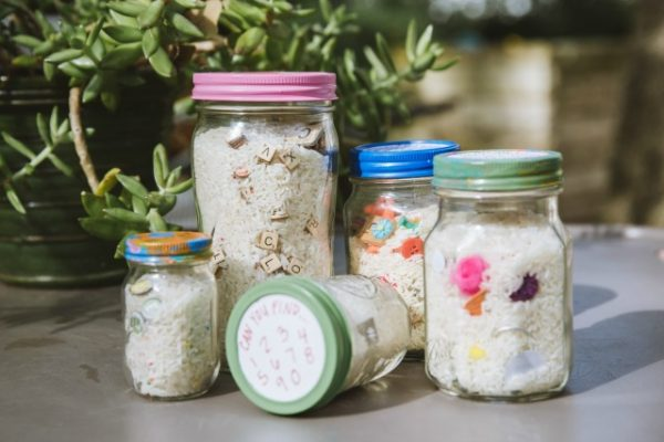 DIY I Spy jars