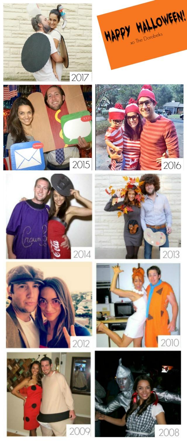 Dorobek DIY Halloween costumes
