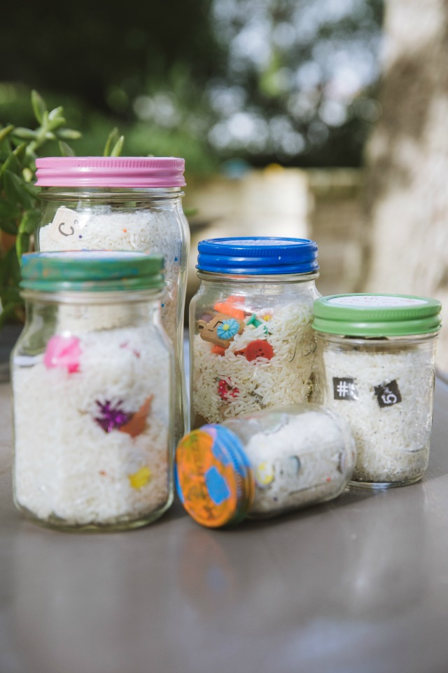 How to make I Spy Jars for Kids
