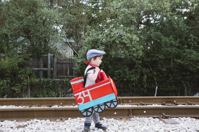 diaper box train costume