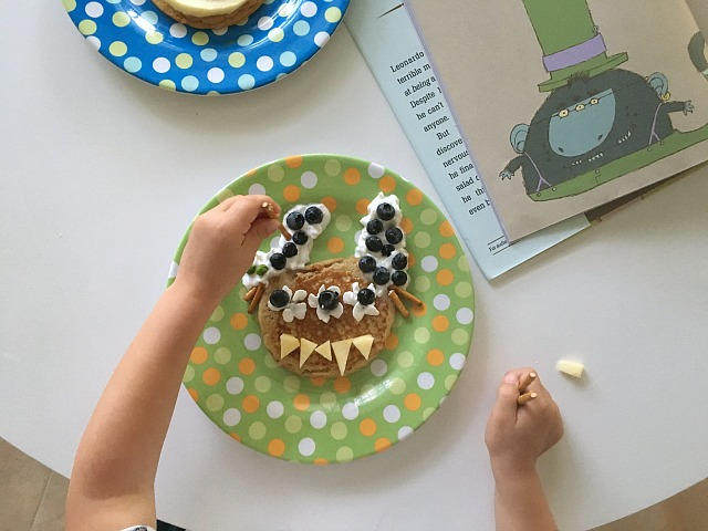 Mo Willems Monster pancakes