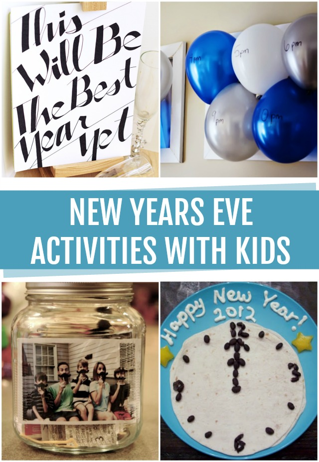 New Years Eve Activities with kids