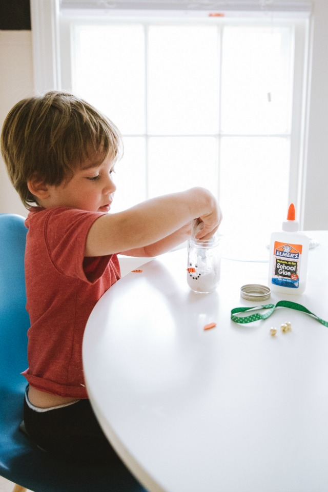Snowman slime gifts