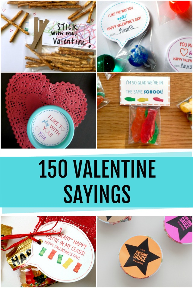 Valentines Day Sayings Craft