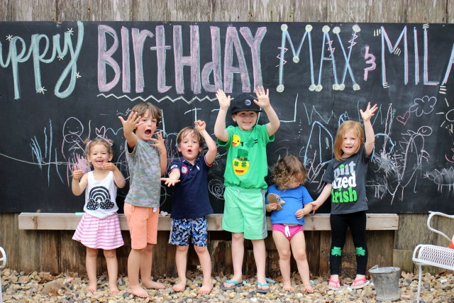 Best backyard birthday party