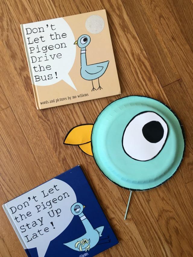 Easy DIY Pigeon book costume