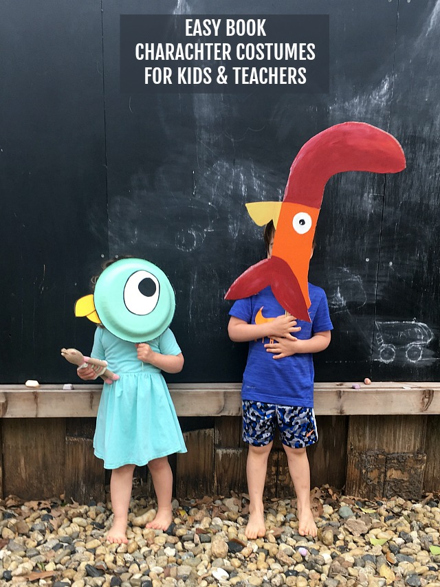 Easy book character costumes for kids and teachers