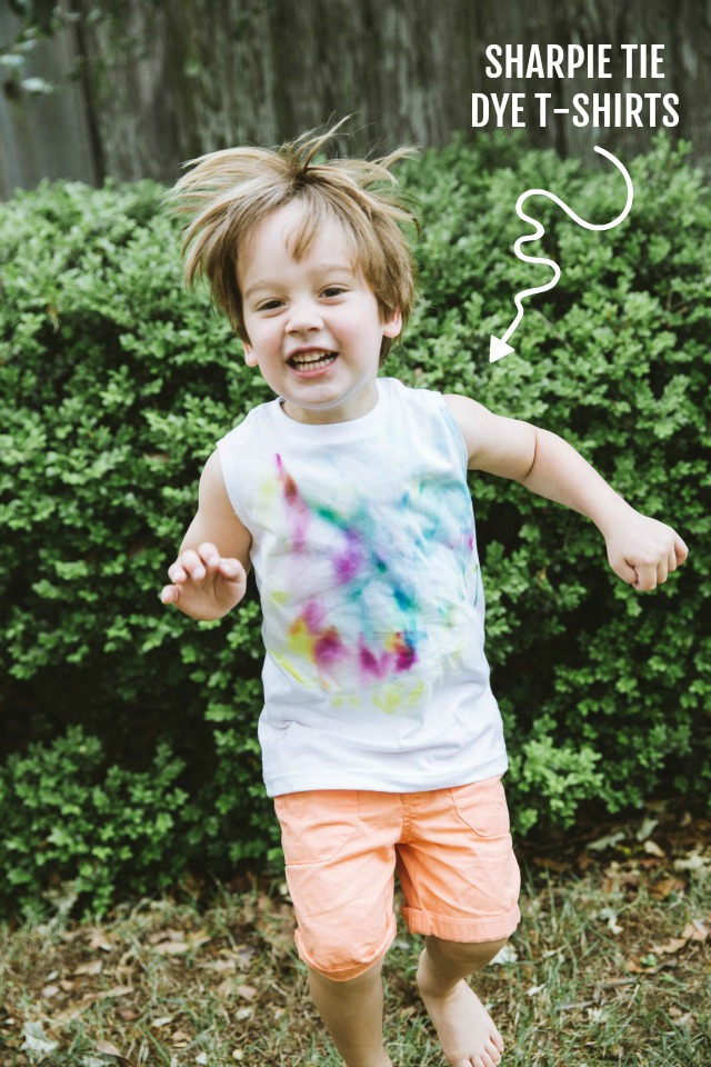 How to make Sharpie Tie Dye T-shirts