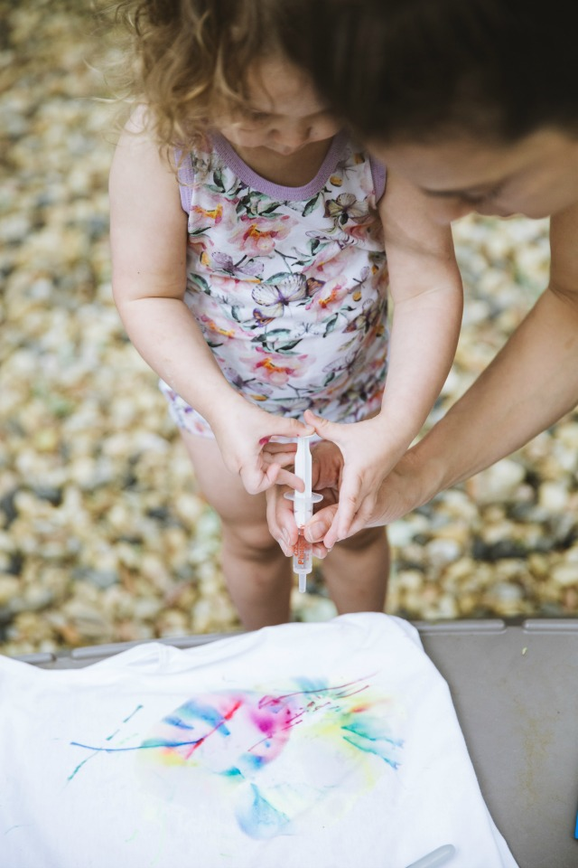 how to make sharpie tie dye tshirts