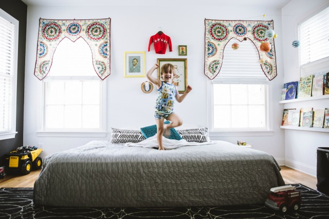 Maxwell's nursery turned big boy room with Brentwood home mattress