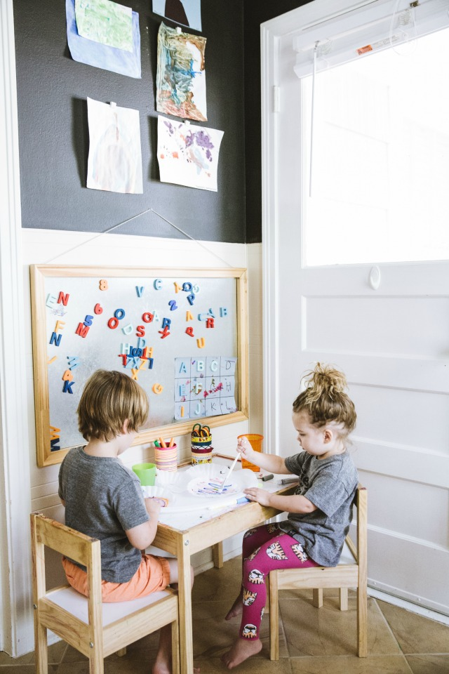 creative station for kids