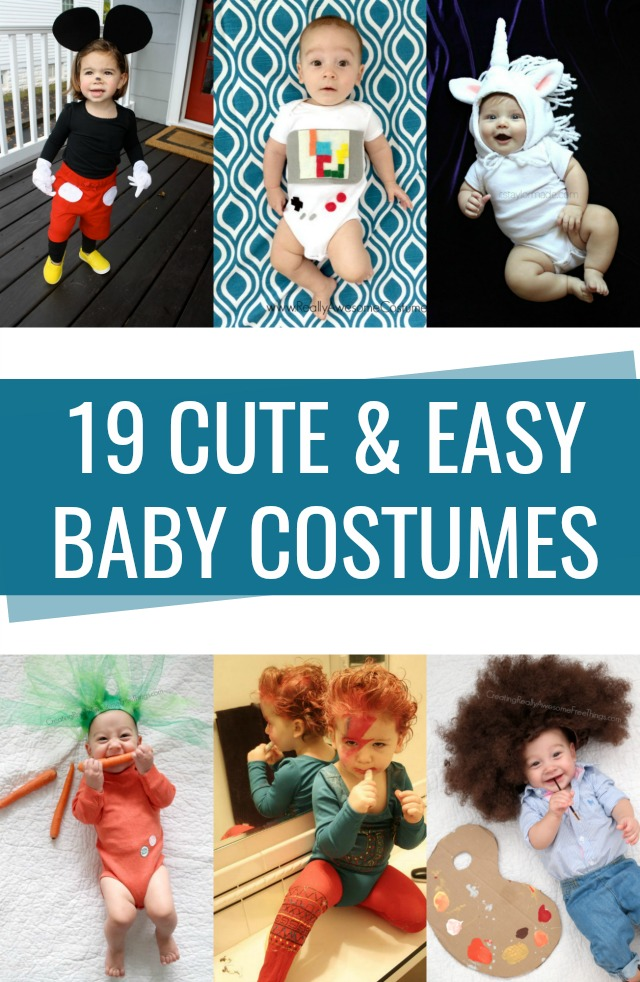 Easy, cute baby costumes