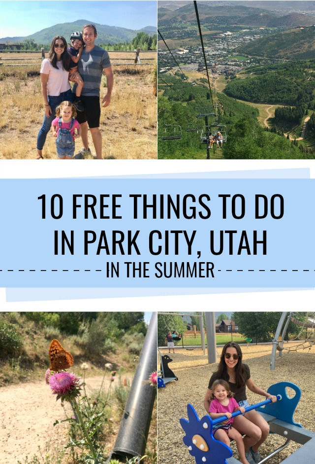 10 Free things to do in Park City, Utah in the summer