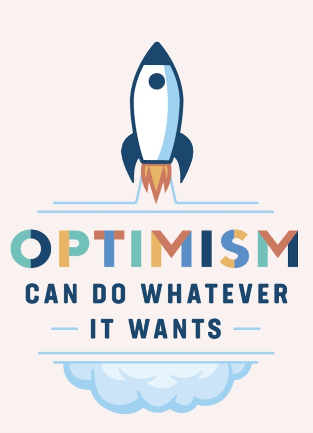 Optimism meme