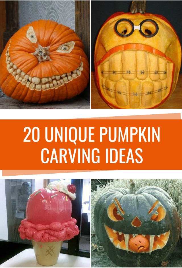 Unique pumpkin carving ideas