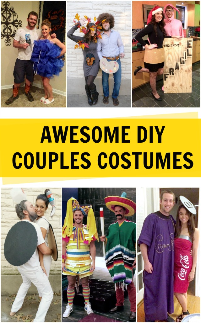 Awesome DIY Couples Costumes