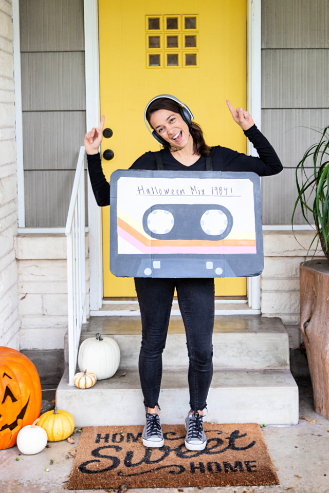 Cassette tape Halloween costume