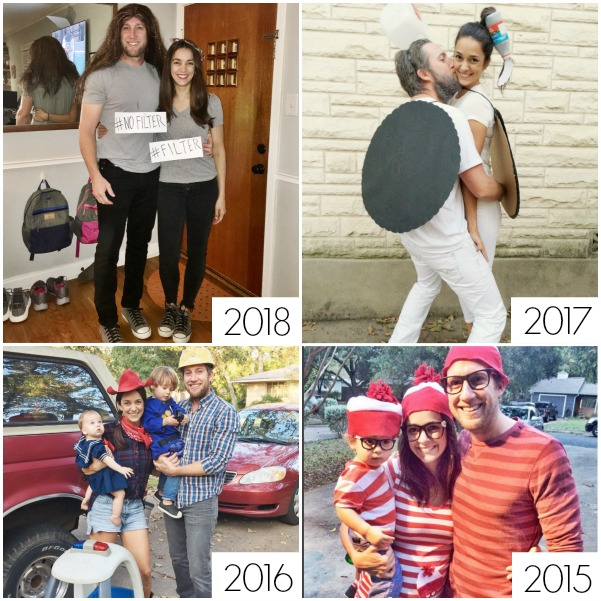 DIY Halloween couple costumes