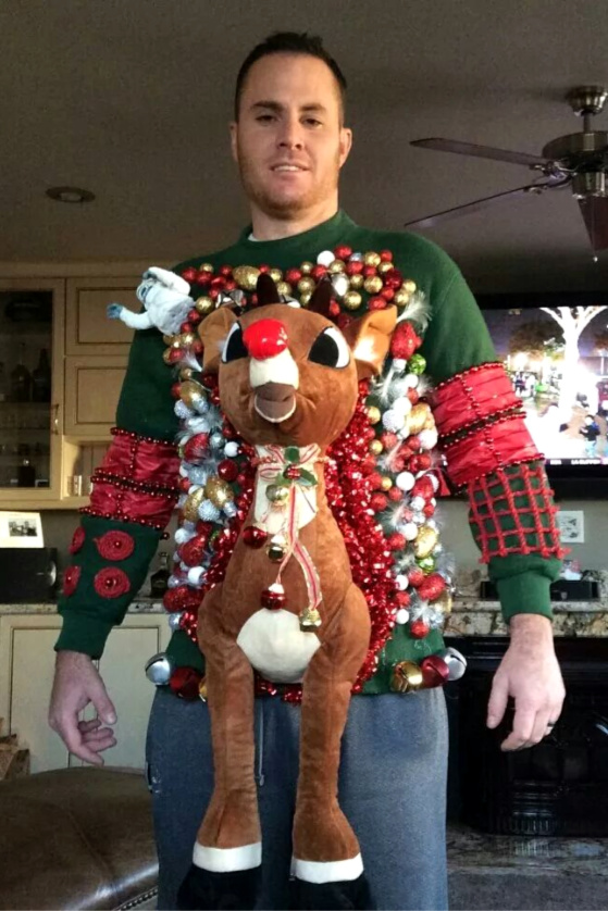 Homemade Tacky Chrsitmas Sweaters