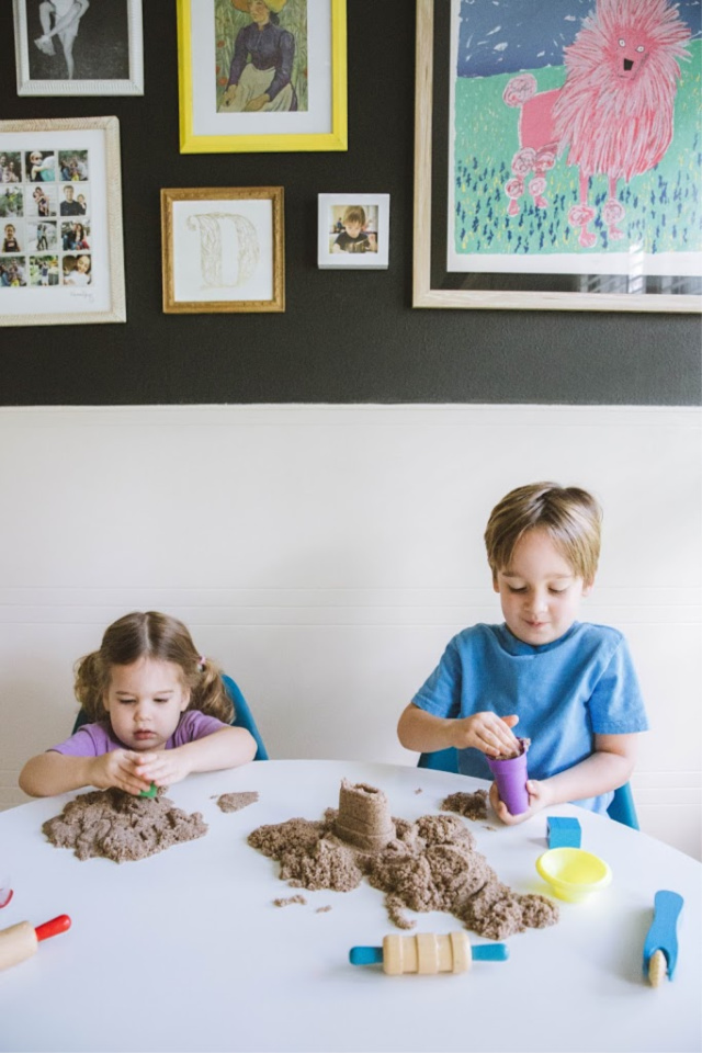 What is Kinetic Sand made of