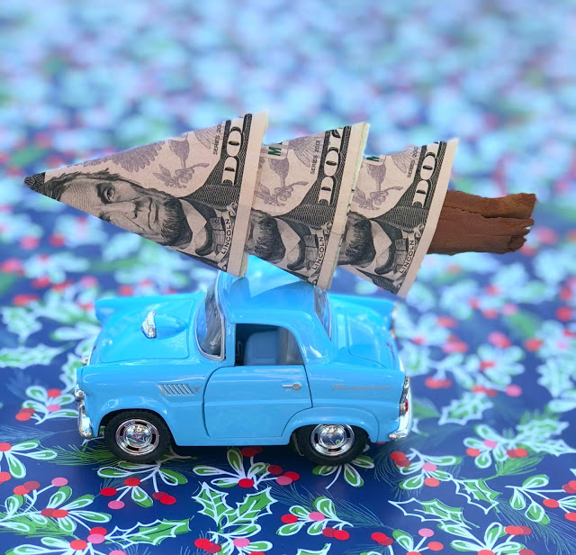 DIY cash gift