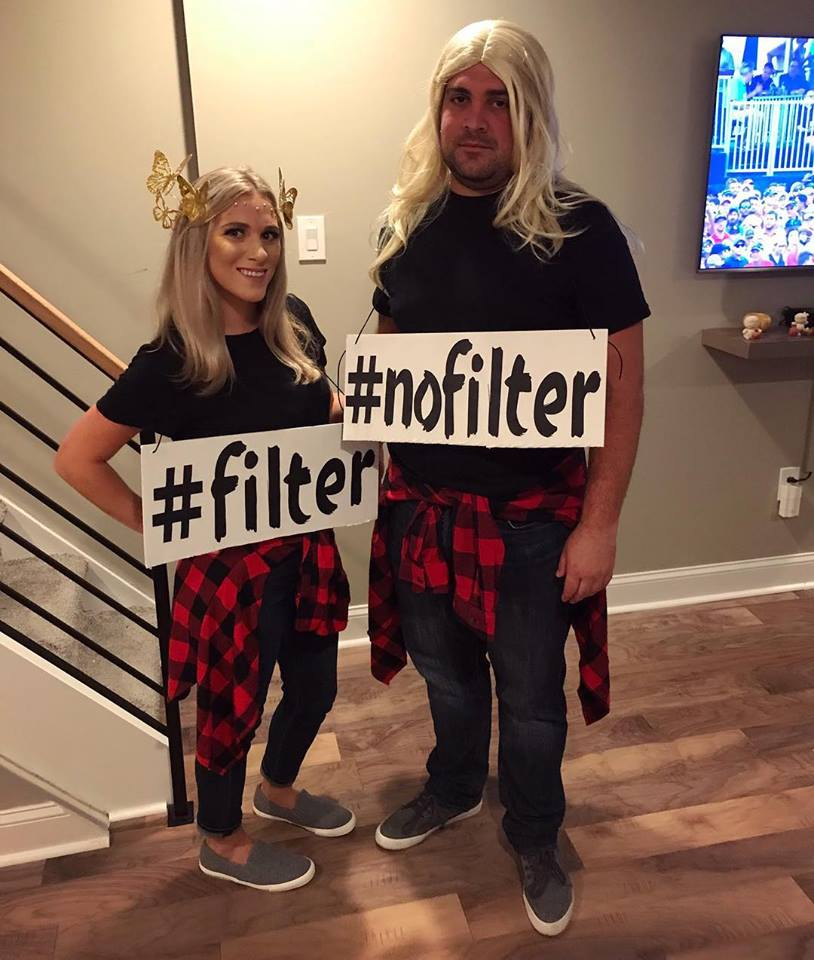 Filter no filter costume