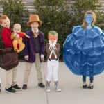 Willy wonka family costumes 1