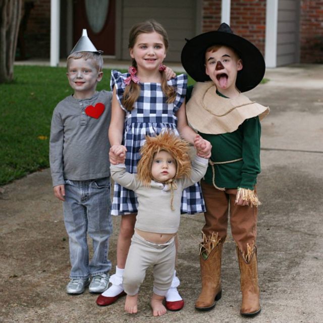 Wizard of oz costumes diy