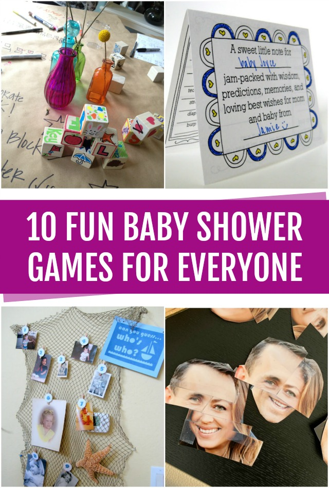 10 Fun baby shower games for everyone
