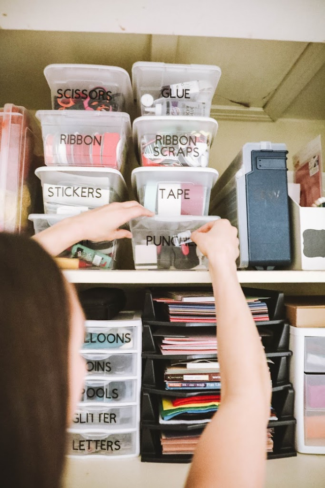 How to make labels using a Cricut