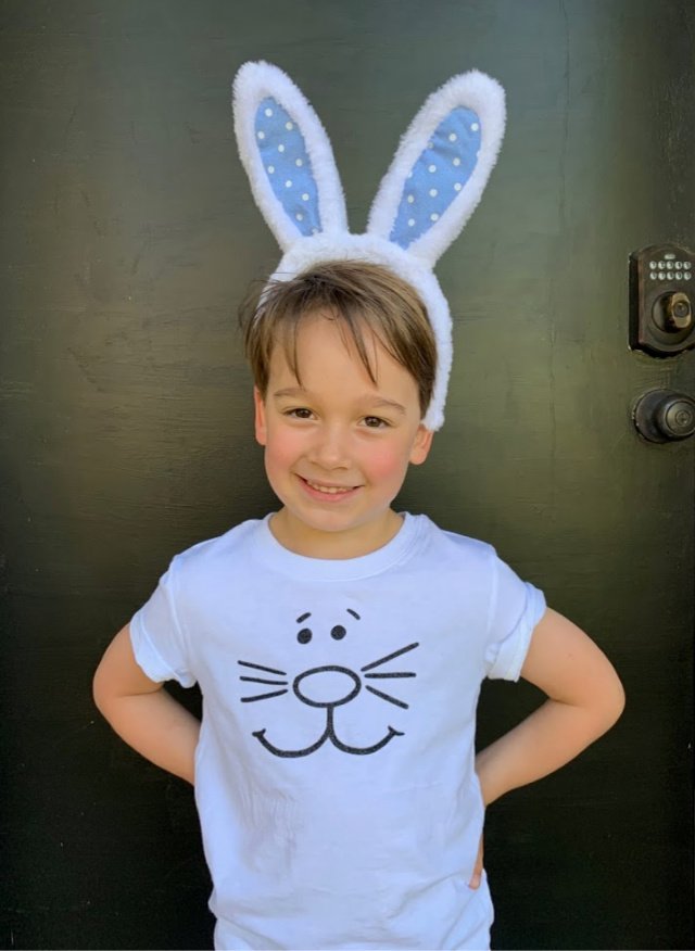 Cricut Maker Easter t-shirt